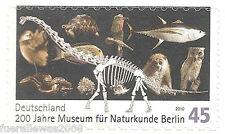 Deutschland Mi 2780 ** Selbstkleb. Marke 200 Jahre Museum für Naturkunde Berlin