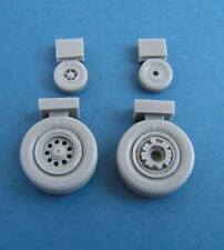 Pavla U48043 1/48 Resin Kinetic Dassault Mirage 2000C Wheels also Heller Italeri