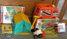 VTG 1970'S MATTEL BIG JIM BOX LOT OF 2 IN BOXES BIG RIG and  TENT