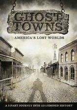 Ghost Towns: America's Lost Worlds (DVD, 2014, 2-Disc Set)