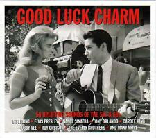 GOOD LUCK CHARM - 50 UPLIFTING SOUNDS OF THE 50s & 60s VARIOUS ARTISTS (NEW 2CD)