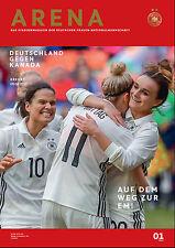 Frauen-Länderspiel 09.04.2017 Deutschland - Kanada, DFB-Arena 1/2017