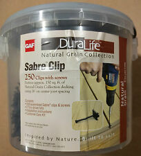 Sabre Clips - Deck fasteners (250 pc bucket)