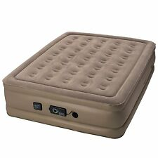 """InstaBed Full Raised 18"""" Air Bed Mattress with neverFlat Air Pump   84002815"""