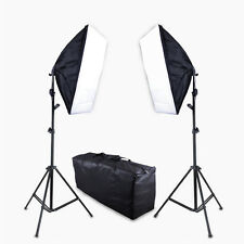 Soft Box Photography Lighting Photo Video Studio Continuous 7ft Light Stand kit
