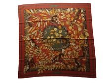 Authentic HERMES Silk Scarf with Box - CASSE NOISETTE : Cashmere/Silk blend