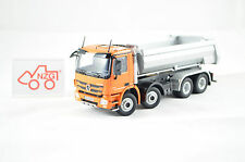 "MERCEDES BENZ ACTROS 8x4 half-pipe ""ORANGE"" NZG art.825/65 1:50"