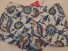 BNWT FLORAL SHORTS/HOT PANTS SIZE 18 FROM COLEEN X