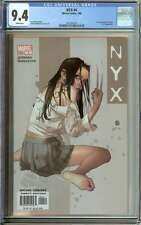 NYX #4 CGC 9.4 WHITE PAGES