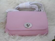 $295 Coach Cross Body Light Pink Mini Ruby Genuine Leather New With Tag