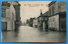CPA: Paris -  Inondations 1910 - Rue de Bellievre (XIIIe)