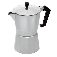 6 CUP CONTINENTAL ESPRESSO COFFEE MAKER ALUMINIUM STOVE TOP PERCOLATOR MOKA POT