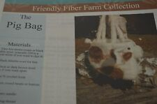 The Pig Bag Purse Felted Crochet All Day Pattern