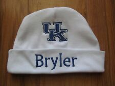 PERSONALIZED MONOGRAM CUSTOM Baby Beanie Hat Cap University of Kentucky Wildcats