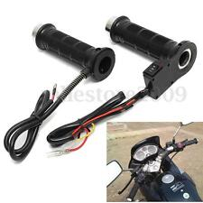 "Motorcycle 7/8"" 22mm Electric Hand Heated Molded Grips ATV Warmers Hot Handlebar"