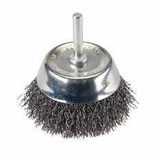 75mm Rotary Steel Wire Cup Brush Rust Removal Cleaning Welding 6mm Arbor