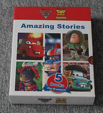 *NEW* Disney Pixar Toy Story Toons / Cars Toon 5 Book set