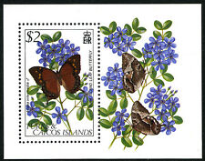 Turks & Caicos 511 S/S, MNH. Flower, Butterfly, 1982