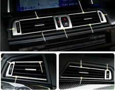 For BMW 5 Series F10 520 525 528 Chrome Dashboard Side AC Air Vent Cover 11-14