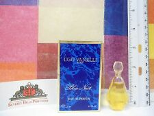 UGO VANELLI BLEU NUIT EAU DE PARFUM 0.1 OZ / 3,5 ML NEW IN BOX MINIATURE