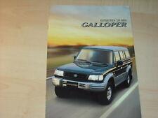 44278) Mitsubishi Pajero Galloper Prospekt 07/1999