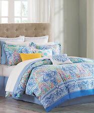 NIP Echo Design Painted Paisley Queen Comforter Set 4pc