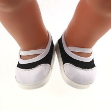 Doll Fashion shoes fit 43cm Baby Born zapf Handmade shoes dollsb677