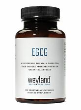 EGCG from Green Tea Extract, 400 mg (100 Vegetarian Capsules). FREE S&H
