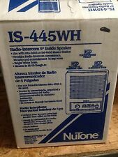 "Brand New Nutone IS-445WH 5"" Inside Intercom Speaker ISA445 IMA4406 IM4406 4006"
