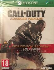 Call Of Duty Advanced Warfare Havoc Exo Zombies Gold Xbox One * NEW SEALED PAL *