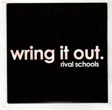 (FW875) Rival Schools, Wring It Out - 2011 DJ CD