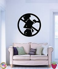 Wall Stickers Vinyl Decal Hot Sexy Girl Woman Lingerie Stop Sex Man's  z1002