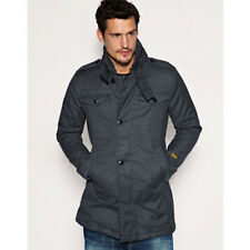 G-Star Raw Fleet Garber Cotton Trench Coat Duck Canvas 100% Cotton Size XL