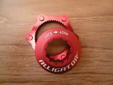Alligator DISC Rotor Center Lock Centerlock Adapter Adaptor, Red for Shimano