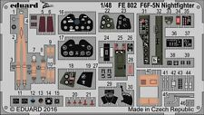 Eduard Zoom FE802 1/48 Grumman F6F-5N Hellcat Nightfighter Eduard