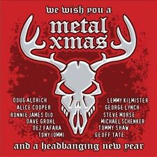 We Wish You a Metal Xmas & a Headbanging New Year by Various Artists (CD,...