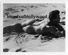 ED FURY BEEFCAKE HUNK MALE NUDE ON BEACH BRUCE OF LOS ANGELES    PHOTOGRAPH