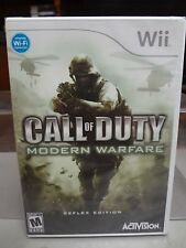 NINTENDO WII - CALL OF DUTY - MODERN REFLEX - VIDEO GAME 2009 - BRAND NEW SEALED