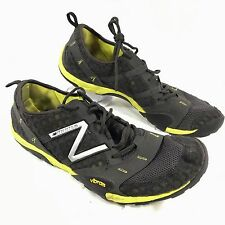 Men's New Balance Minimus Training Running Shoes Black Yellow Sz 13 D