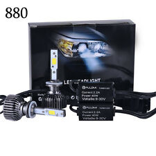 7200LM 80W 880 881 CREE LED Lamp Headlight Kit Car Beam Bulbs 6000k White 12V