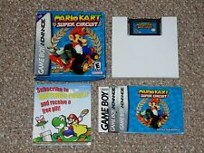 Mario Kart Super Circuit Game Boy Advance GBA Complete in Box