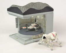 Konami UFO Moon Mobile and Interceptor Launch Site Diorama Figure   LE US SELLER