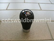 Genuine BMW Six Speed Leather Manual M-Tech Gear-knob