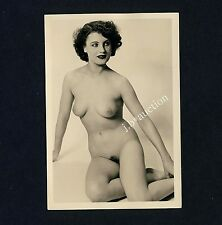 #291 RÖSSLER AKTFOTO / NUDE WOMAN STUDY * Vintage 1950s Studio Photo - no PC !