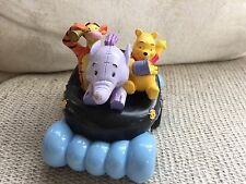 DISNEY WINNIE THE POOH TIGGER ROLLING CAR CAKE TOPPER DISPLAY PLAY TOY