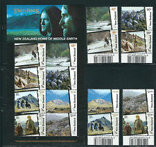 NEW ZEALAND 2004 LORD of the RINGS comp. set plus sheet (SCOTT 1956-63, 63a) MNH