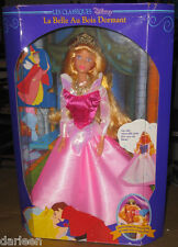 Disney French Classic SLEEPING BEAUTY DOLL Mattel 1991 La Belle Au Bois Dormant