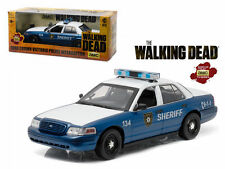 Rick and Shane's 2001 Ford Crown Victoria Police Car The Walking Dead 1/18