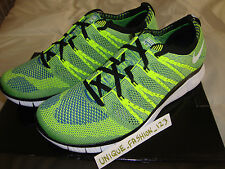 NIKE FREE FLYKNIT HTM SP VOLT GREEN US 8 UK 7 41 MIXTURE 2013 CITY CHUKKA LUNAR