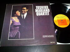 """Toshiko Mariano Quartet """"same"""" LP Candid – GJS 9012 made in ITALY 1985"""